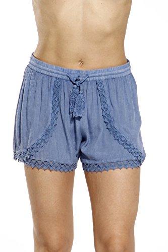 Riviera Sun 21727-LT. Denim-L Womens Shorts