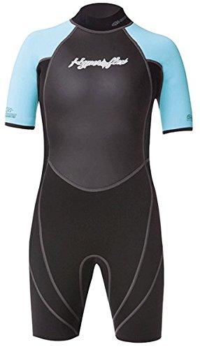 (Hyperflex Wetsuits Junior's Access 2.5mm Spring Suit, Black/Light Blue, 14 - Surfing, Windsurfing & Wakeboarding)