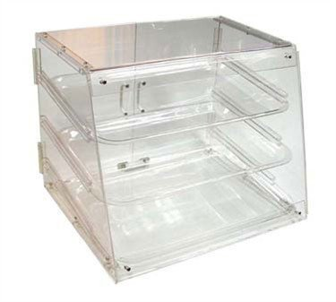 Winco ADC-3 3-Tier Pastry Display Case, Acrylic by Winco