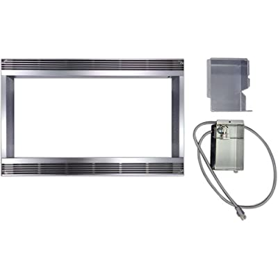 Sharp RK44S24 Built-In Stainless Steel Kit for 1.4 and 1.6 Cubic Feet Micro Wave Ovens, 24-Inch