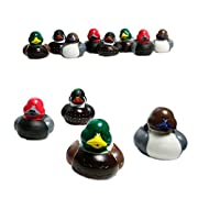 Fun Express 12 Mallard Decoy Rubber Ducks