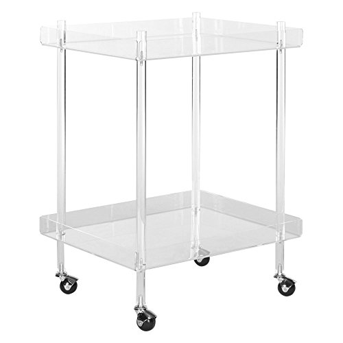 Safavieh Home Collection Healy White Kitchen Cart by Safavieh (Image #2)