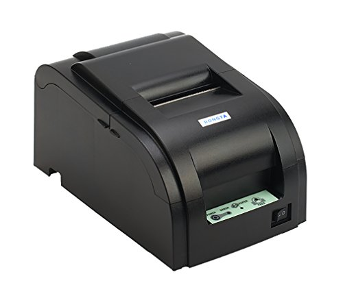 Rongta RP762 Impact Receipt Printer with USB & Serial and Ethernet Interface,4.4 lines/s Print Speed,76 ± 0.5mm Print (Line Impact Printer)