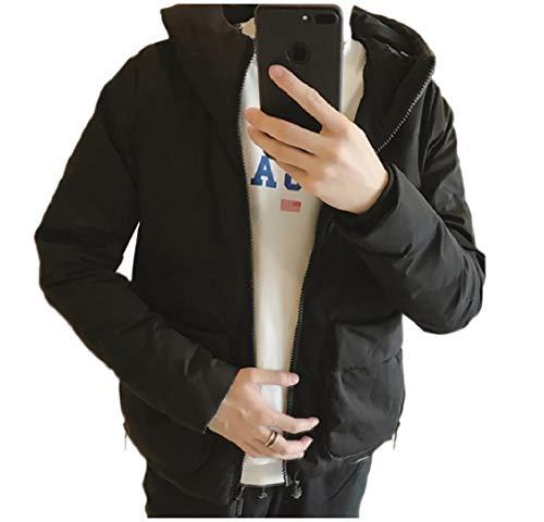 Men's Warm Relaxed Jacket Pocket Hoodie Up Brumal Coat Energy Black Fit Zip BZ8qnqUd