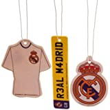 Official Real Madrid FC 3 Pack Air Freshener
