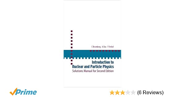 Quation and soultion manual for nuclear physics ebook array introduction to nuclear and particle physics solutions manual for rh amazon com fandeluxe Image collections