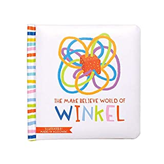 Manhattan Toy The Make Believe World of Winkel Baby Board Book, Ages 6 Months & Up