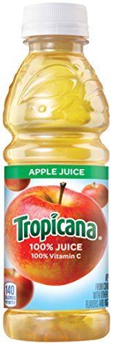 Tropicana Apple Juice, 10 Ounce (Pack of 24)