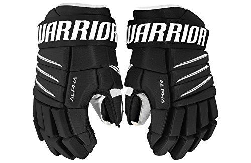 WARRIOR Junior Alpha Qx4 Gloves, Size 11, Black/White
