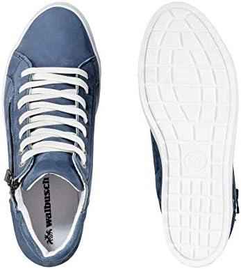 Walbusch Damen City Hightop Sneaker einfarbig: Walbusch