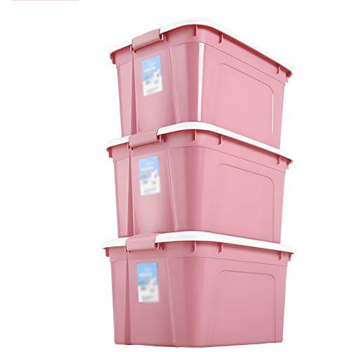DUXX 収納ボックス、収納ボックス大型家庭用プラスチック収納ボックス衣類収納ボックス collection box (色 : B) B07MP1V5Y2 B