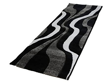 Acerto FRIESE3 40184 Rug 200 X 290 CM Expressive And Modern Design Black  Bright Colours