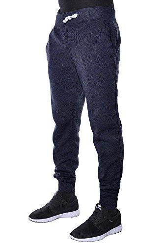 Mens Jogger Pants Active Basic Urban Harem Slim Fit Elastic Fleece (X-Large, (Active Fleece)