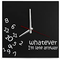 Whatever Wall Clock - by Decodyne