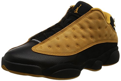 Nike Mens Air Jordan 13 Retro Low Chutney Black/Chutney Leather Size 10 by NIKE
