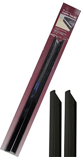 Vance CTKBK Black Counter Trim Kit, 20-3/4-Inch, Pack of 2
