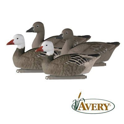 Greenhead Gear Pro-Grade Goose Decoy,Blue Goose Floaters/ Active 4-pack 71089 by Greenhead Gear