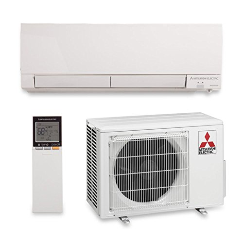 Mitsubishi 9,000 BTU 30.5 SEER Wall Mount Heat Pump 208/230V H2i Hyper Heat (Mitsubishi Ductless Ac Units compare prices)
