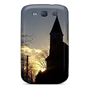New Arrival Church In The Sunset For Galaxy S3 Case Cover