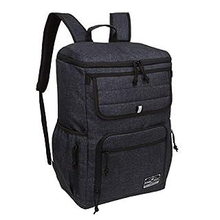 Large Lightweight Travel Backpack For Men Women Outdoor Waterproof Backpack - Black