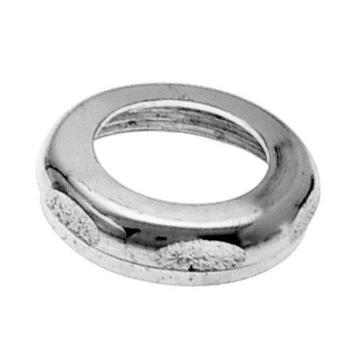 WestBrass D425 Polished Nickel 1-1/2 in. x 1-1/2 in. Brass Slip Joint Nut by Westbrass