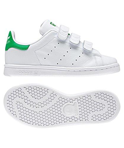 Stan Zapatillas Cf Adidas Niños Smith Blanco Unisex Owx44Udq