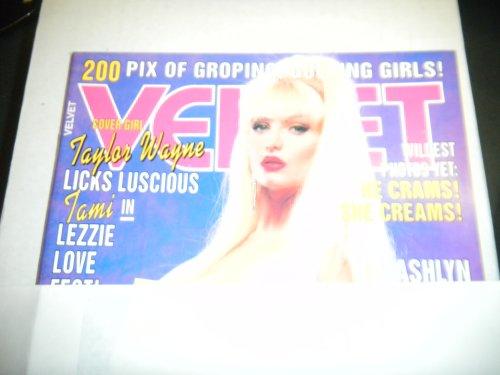 Velvet Adult Magazine Luscious Taylor Wane Feb 1983 (The Best Of Taylor Wane)