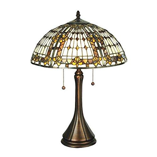Fleur-De-Lis Table Lamp - Meyda Tiffany Garden