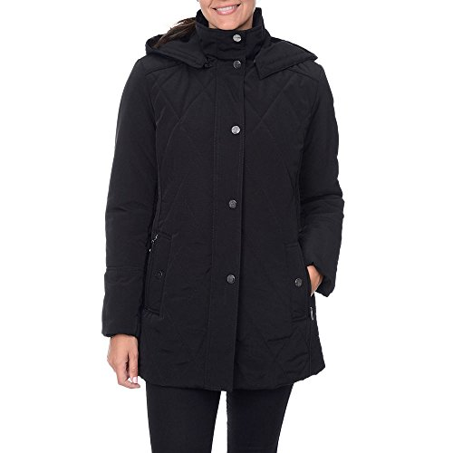 Quilted Silk Coat - 2