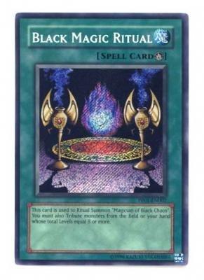 Yu-Gi-Oh! - Black Magic Ritual PP01-EN002 Secret Rare - Premium Pack 1