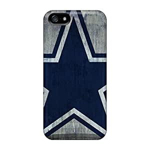 Flexible Tpu Back Case Cover For Iphone 5/5s - Dallas Cowboys