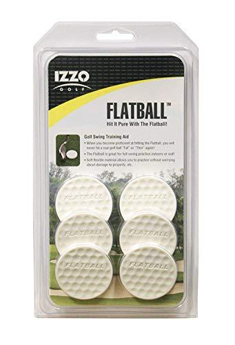 IZZO Golf Flatball Swing Golf Training Aid from IZZO Golf
