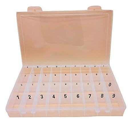 Amazon.com: Organizador de cartas con cuadrículas de 36 ...