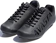 AVASTA Unisex Indoor Cycling Shoes with Shoelaces,Road Mountain Bike Cycling Shoes Compatible with SPD, Delta