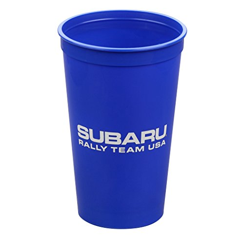 Official Subaru 20oz.Stadium Cups 6 pack Rally Team USA Logo Wrx Sti Impreza Race (Sti Race)