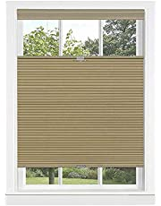 Achim Home Furnishings Alabaster Cordless Cellular Top-Down Honeycomb Pleated Window Shades Blinds