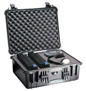 Pelican 1550 Case with Foam for Camera (Black)