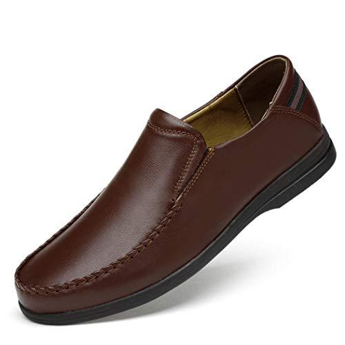 Zxcvb Klassische Herren Lederschuhe Casual Business Lederschuhe Kleid Schuhe Große Größe Casual PU Schuhe Schwarz Braun