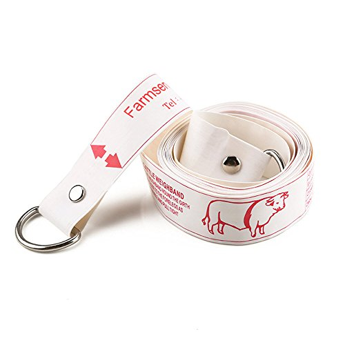 Wintape Professional Cattle Weighband Weight & height Tape Measure (Pig Tape Measure)