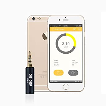 Medidor de Radiación Smart Geiger Counter Nuclear Radiation Dosimeter X-Ray and Gamma Detector Smartphone Android IOS with App: Amazon.es: Industria, ...