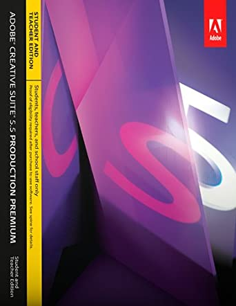Adobe CS5 5 Production Premium Student and Teacher Edition for Mac  [Download]
