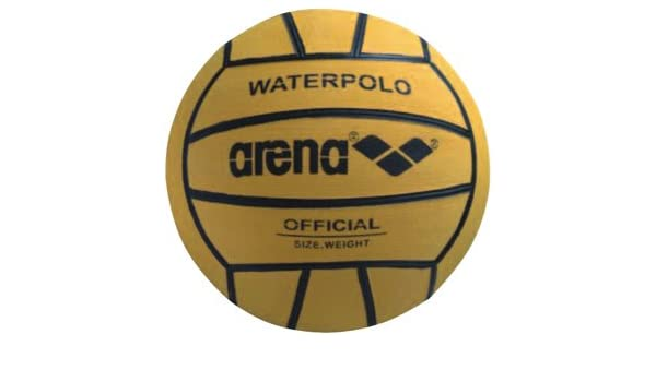 ARENA-BALÓN DE WATERPOLO JUNIOR 3-300 WP-GR-AMARILLO: Amazon.es ...