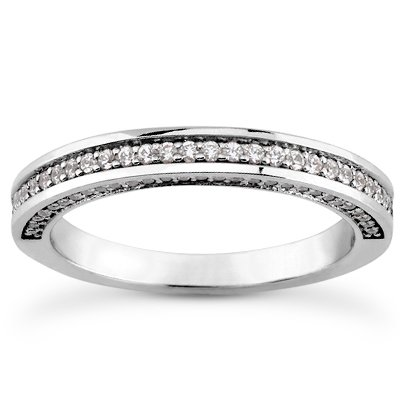 0.65 Ct Diamond Band - 5