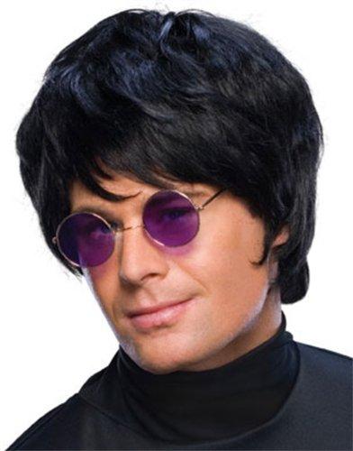 Rubie's Pop Star Short Wig, Black, One Size -