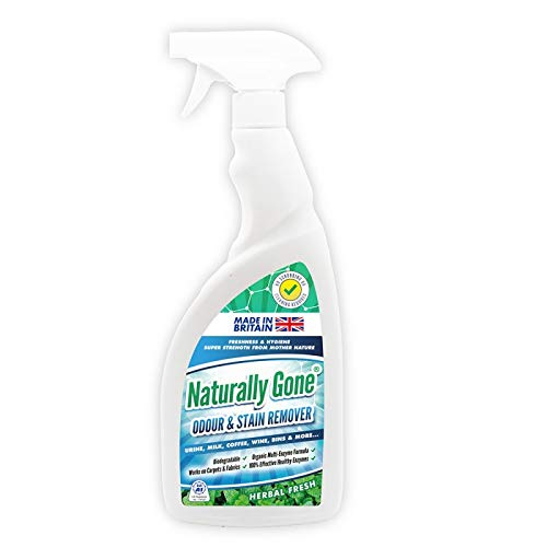 Naturally Gone Stain & Odour Remover Trigger Spray 750ml (6) Airpure