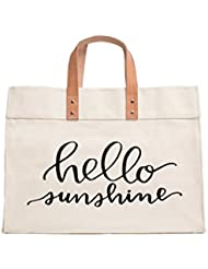 Canvas Beach & Pool Tote - Resort Style Bag