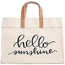 Canvas Beach & Pool Tote - Resort Style Bag
