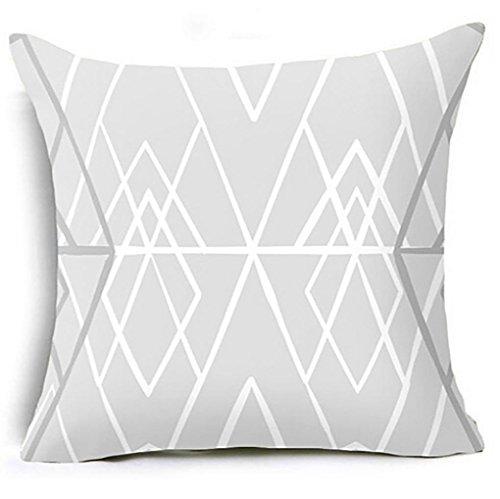18' Tropical Decor (18''x18'' Geometric Printed Cushion Case FimKaul Gift Soft Sofa Bed Throw Square Pillow Covers (E))