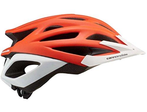 Cannondale Radius Helmet Small/Medium Orange/White