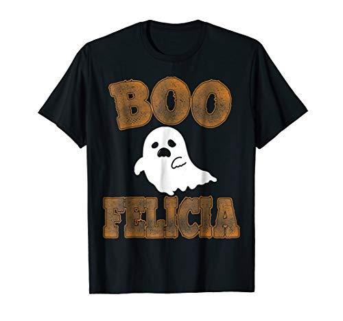 Boo Felicia Funny Halloween T Shirt - Halloween Costume Tee]()